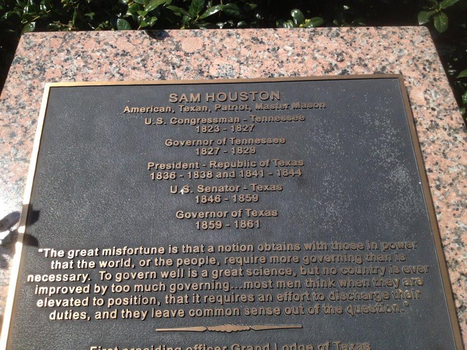 Words Of Wisdom From Sam Houston