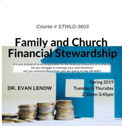 Family and Church Financial Stewardship Class